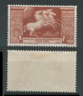 ITALIA - REGNO 1937 - AUGUSTO - P.A. N. A 108 * - Cat. 30 € - N. 1813 - 1900-44 Vittorio Emanuele III