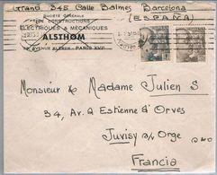 España, 1953,  Barcelona-Francia - 1931-Oggi: 2. Rep. - ... Juan Carlos I