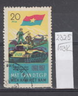 103K2325 / 1967 - Michel Nr. 12 Used ( O ) Vietcong - 7th Ann. Of  National Liberation Front Tank ,Vietnam Viet Nam - Vietnam