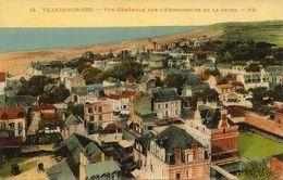 1451Villiers Sur MerVue Générale Sur L'embouchure De La Seine ( Colorisée)N° 18Non Circulée - Villers Sur Mer