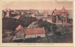 1457Le Home Sur MerLes Villas Dans Les DunesN° 2Circulée 1931 - Autres Communes