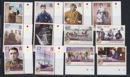 South Georgia & South Sandwich Islands 2009 Definitives / Sir Ernest Shackleton 12v ** Mnh (48490) - Géorgie Du Sud