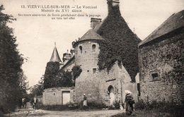 1469Vierville Sur MerLe Vomicel - Manoir Du XVI Siècle18Circulée 1928 - Autres Communes