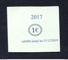 """Monnaie Carton Nécessité """"Ticket De Fidelité 1€ - Cordonnerie De La Gare Houilles"""" Yvelines - Monétaires / De Nécessité"""