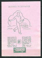 Buvard Avec Publicité HISTORIA Et Timbre Historia De 1/2 Point. - Buvards, Protège-cahiers Illustrés