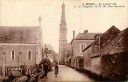 Héric * Le Presbytère Et La Chapelle Notre Dame De Bon Secours * Rue Du Village - France