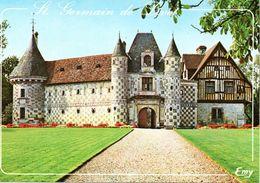 1488Saint Germain De LivetLe ChâteauCirculée 1995 - Autres Communes