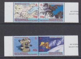 South Georgia & South Sandwich Islands  2007 Carthography 2x2v ** Mnh (48495) - Géorgie Du Sud