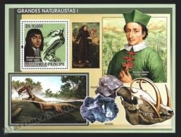 Sao Tome & Principe 2008 Yvert BF 412, Famous People. Scientist, Nicolas Steno - Miniature Sheet - MNH - Sao Tome And Principe