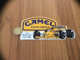 AUTOCOLLANT, Sticker «CAMEL RACING SERVICE» (F1) - Stickers