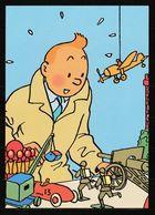 TINTIN : 2 Feuilles De Papier à Lettre Tintin Hergé Moulinsart De 2004 + 1 Enveloppe. - Documentos Antiguos