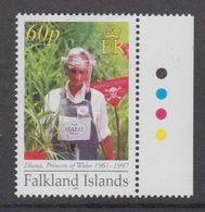 Falkland Islands 2007 Princess Diana, Anti-mining 1v ** Mnh (48498) - Falkland Islands