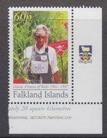 Falkland Islands 2007 Princess Diana, Anti-mining 1v  (logo In Margin) ** Mnh (48498A) - Falkland Islands