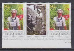 Falkland Islands 2007 Princess Diana, Anti-mining 1v  Gutter ** Mnh (48498C) - Falkland Islands