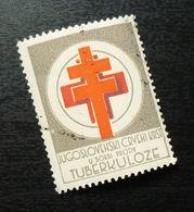 Yugoslavia 1950 TBC Stamp With Faults B2 - 1945-1992 Repubblica Socialista Federale Di Jugoslavia