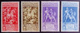 Italie Italy Italia 1941 Tite Live Tito Livio Yvert 438-441 ** MNH - 1900-44 Victor Emmanuel III.