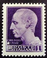 Italie Italy Italia 1942 César Caesar Filigrane Couronne Watermark Crown Yvert 442 ** MNH - 1900-44 Vittorio Emanuele III