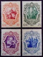 Italie Italy Italia 1942 Galilée Galileo Yvert 443-446 ** MNH - 1900-44 Vittorio Emanuele III