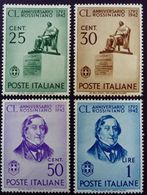 Italie Italy Italia 1942 Rossini Rossiniano Yvert 447-450 ** MNH - 1900-44 Vittorio Emanuele III
