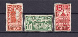 Danzig - 1935 - Michel Nr. 256/258 - Postfrisch - Danzig