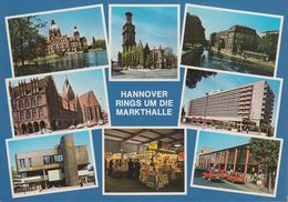 D-30159 Hannover - Rings Um Die Markthalle - Cars - Ford Capri - DAF - Hannover