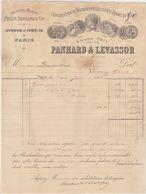 Paris, Panhard & Levassor 1896, Signature De Panhard - Automobile