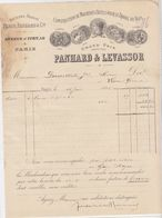 Paris, Panhard & Levassor 1896, Signature De Levassor - Automobile