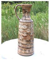 Vase Cruche Faience Coceram - Ceramica & Terraglie