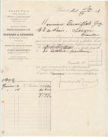 Paris, Panhard Et Levassor 1893 Avec Signature - Automobile