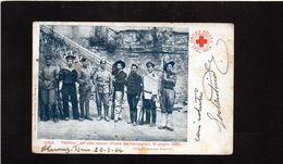 CG45 - Francia - Le Otto Nazioni - Festa Dei Bersaglieri 18//1901 - Cina, Pechino  E CRI Italiana - Patriottiche