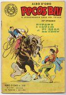 "Pecos Bill ""Albo D'Oro"" (Mondadori 1951)  N. 258  XLIII° Episodio - Tex"