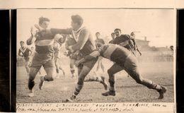 Rugby * Libourne Vs Toulouse * Photo Ancienne Miroir Sprint * Sport Stade Toulousain Match Bonnacaze Barris - Rugby