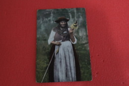 Portugal Lisboa Fiandeira Do Norte Costumi Costume Trachten 1914 + NO Stamps - Portugal