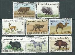 Tunisie  N° 655 / 62  XX  Faune :  Les 8 Valeurs Sans  Charnière, TB - Tunesië (1956-...)