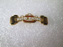 PIN'S     AUTO RACING   Email Grand Feu - Pin's