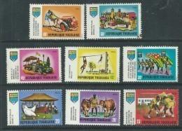 Togo  N° 625 / 40 XX Jeunesse Togolaise.  Les 16 Valeurs Sans  Charnière, TB - Togo (1960-...)