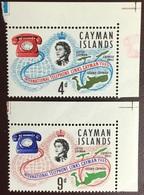Cayman Islands 1966 Telephone Cable MNH - Kaimaninseln