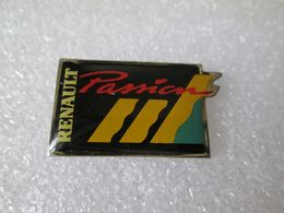 PIN'S     RENAULT PASSION - Renault