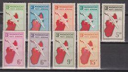 Madagascar PA N°(yt) 16 à 24 Neufs ** - Madagascar (1889-1960)