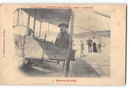 CPA 62 Le Touquet Paris Plage Meeting D'aviation Maurice Allard + Autographe Original - Flieger