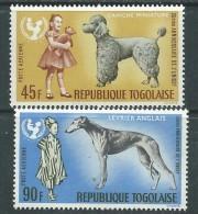 Togo P.A.  N° 65 / 66 XX 20ème Anniversaire De L'U.N.I.C.E.F., Les 2 Valeurs Sans  Charnière, TB - Togo (1960-...)