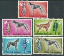 Togo N°  520 / 24 XX  : 20ème Anniversaire De L' U.N.I.C.E.F.   Les 5 Valeurs  Sans Charnière, TB - Togo (1960-...)
