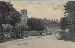 55, Meuse, MONTHIERS SUR SAULX, Un Pont Sur La Saulx, Scan Recto Verso - Other Municipalities