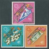 Togo N°  566 / 68 XX  : Journée Nationale. Les 3 Valeurs Surchargées  Sans Charnière, TB - Togo (1960-...)