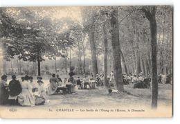 CPA 92 Chaville Les Bords De L'étang De L'Ursine Le Dimanche - Chaville