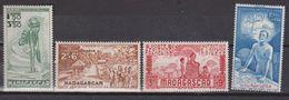 Madagascar PA N°(yt) 41 à 4425 à 40  Neufs **/*tc - Madagascar (1889-1960)