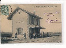 BUCY-le-LONG : La Gare Du C. B. R. - Très Bon état - Autres Communes