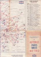 Autobus Paris Banlieue Métro (année 1947/48) - Europa