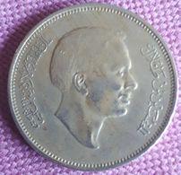 JORDANIË / 50 FILS 1977 AH 1697 KM  18 - Jordanie