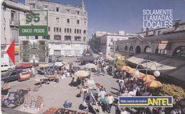 Uruguay TC 034a, Mercado Del Puerto, 2 Scans.     Schlumberger - SC7 - Uruguay
